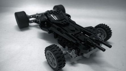 LEGO Batmobile (Batman v Superman Dawn of Justice) by demon14082000