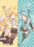 VOCALOID bookmarks by Sui-Sui