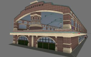 Vicarstown station WIP by bonjourmonami