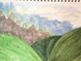 Landscape Practice by ShadAmyfangirl129