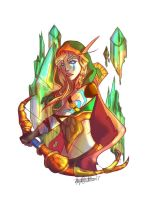 Alleria Windrunner by Jaydenwolf