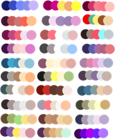 30 free color palettes by Scraftyy