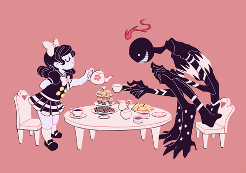 Commission: Tea Party by SecretYuri