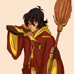 Quidditch Player Keith by TaffyDesu