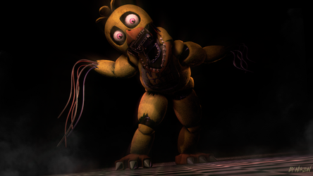 [SFM/FNAF2] Withered  Chica. by NikzonKrauser