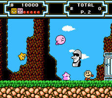 Starfy Starly Kirby Pac-Man in DuckTales 2 by SuperStarfy2002