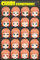 ~Chibi Expressions!~ by ken1171