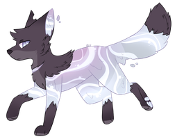 Silver [Waterdog MYO] by BirdyWren