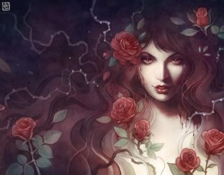 The Candor of the Rose 2 by escume