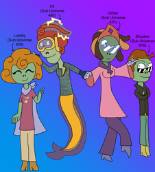 PvZH: TNR - Children of AUs (Electric Boogaloo) by Seadragirl12