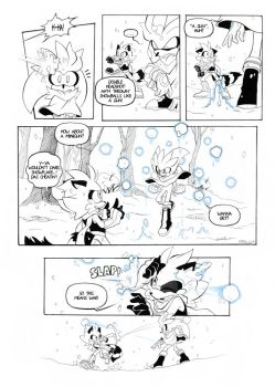 ''The first snow'' Page 3 by FinikArt