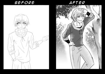 Re-drawing an old drawing by u-007