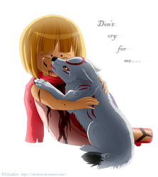 Don't cry for me... by Chiakiro