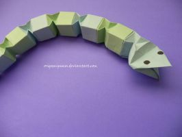 Origami Snake by OrigamiPieces