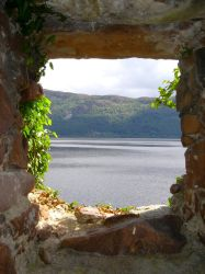Stock 204: Loch Ness window by AlzirrSwanheartStock