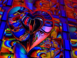 Look into my psychedelic heart ... by marijeberting