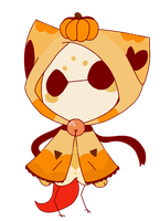 CLOSED Chime Cat Pumpkin by Cosmic-Sailor