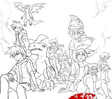 Tamers alliance 2 by Riza23