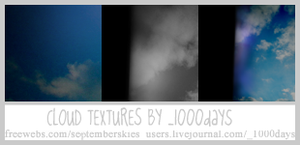 Cloud Textures by clayla919