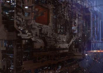 science fiction by paooo
