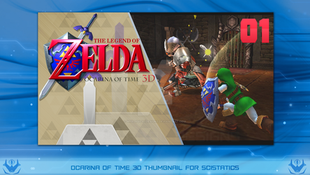 Thumbnail Ocarina of Time 3D by WiseDigitalDesigns
