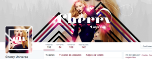 CherryUniverse Twitter design by BrielleFantasy