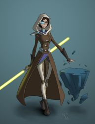 Jedi Consular by cartoon-itis
