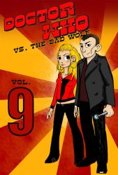 Doctor Who vs. The Bad Wolf by duckyvoodoo