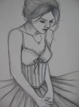Sketchbook: The Courtesan 2 by VacantBox
