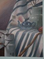 Oil painting - Still Life by zaionczyk