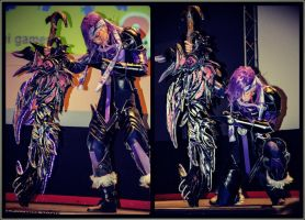 Romics Spring Edition 2013 - Caius on the Stage by LeonChiroCosplayArt