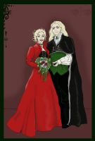 Lucius and Narcissa by DracoDomina