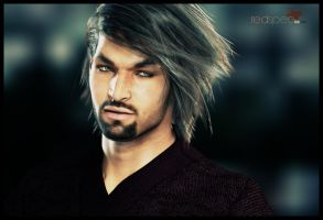 RedSpec TGX hair for Bentley Hair by AprilYSH by TRRazor