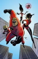 The Incredibles ! by Andre-VAZ