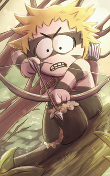 Barbarian Tweek by graffiti-flower