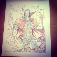 Commish 112 WIP 05 by RobDuenas