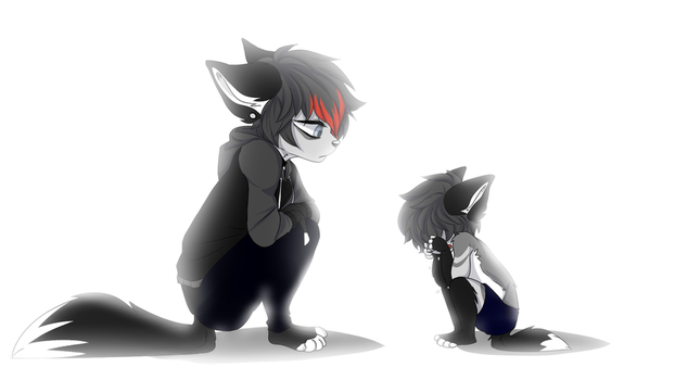 Go Ahead And Cry Little Boy by keebutt