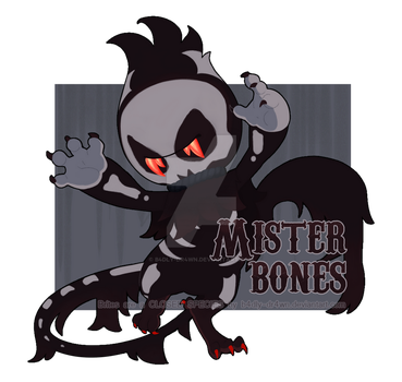 Brites! Auction || Mister Bones [CLOSED] by b4dly-dr4wn
