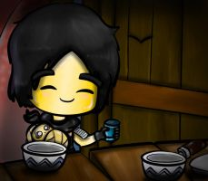 Feeding Baby Wu by Novelsycto