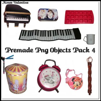 Premade Png Objects Pack 4 by Lady-Valentine-Art83