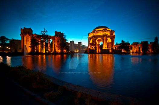 Palace of Fine Arts by MagicLightAdventures