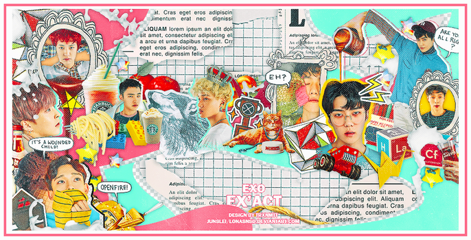 20160710. EX'ACT EXO {official} by LonaSNSD