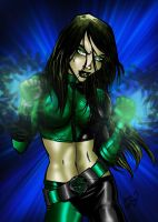 Shego Colour by channandeller