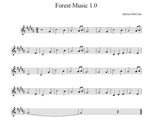 Forest Music 1.0 by GossArt1323