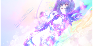Rei Ayanami Signature II by The-Incorruptible