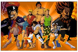Street Fighter (Japanese) by wburton19