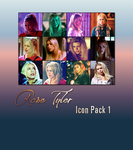 Doctor Who - Rose Tyler Icon Pack 1 - 2018 by feel-inspired