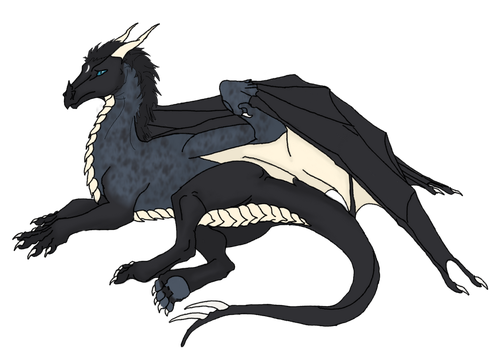 Drustan Dragon by Look-Heavenward