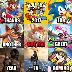 2017 in Gaming by realYoshiPlayer