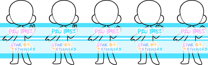 P2U Handy Bases by star-stickers